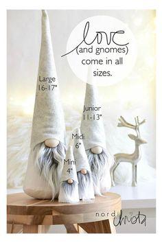 MINI/MIDI Tomte Gnome Tonttu Scandinavian Christmas