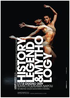 LabArt Dance poster (lauren + dancers inspiration)