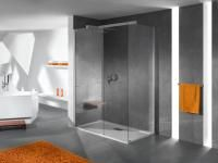 """Z CZEGO WYKONAĆ PODŁOGĘ W ŁAZIENCE: Przy wyborze materiału na podłogę w łazience wcale nie jesteśmy skazani na """"nieśmiertelne"""" płytki ceramiczne. Obecnie na rynku są dostępne inne materiały, które z powodzeniem mogą je zastąpić. Divider, Bathtub, Bathroom, Interior, Furniture, Home Decor, Standing Bath, Washroom, Bathtubs"""