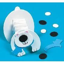accordion fold polar bear