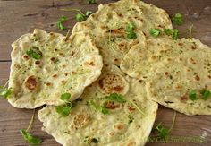 The Café Sucré Farine: Delightful Any Time of the Day - Herbed Naan (from 5 Minute Dough!)