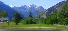 paysage vers le Bourg d'Oisans