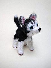 husky (entala) Tags: dog toy husky amigurumi