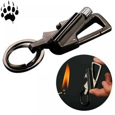 Keep the rod close to combustible materials like paper; Easily ignite fire with sparks and combustible materials. Work Better With Combustible Materials. Survival Fire Starter, Survival Tools, Camping Fire Starters, Flint And Steel, Flint Fire Starter, Lighter Fluid, Camping Tools, Outdoor Camping, Outdoor Tools
