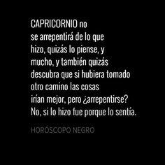 #Capricornio Más