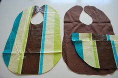 Just Another Day in Paradise: Vinyl Tablecloth Bib How-to