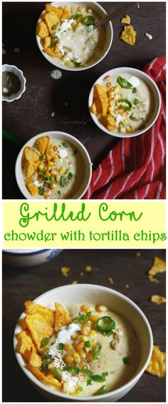 chicken grilled corn chowder