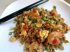 Easy, yummy fried brown rice