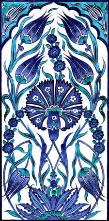 Osmanlı Saray Çinileri İznik Duvar Panoları Turkish Tile Art Karoları 20-40 Turkish Design, Turkish Art, Turkish Tiles, Islamic Tiles, Islamic Art, Turkish Pattern, Keramik Design, Handmade Tiles, Tile Art