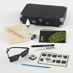 Spy Kit (DIY for Christmas): this has my nephew written all over it!