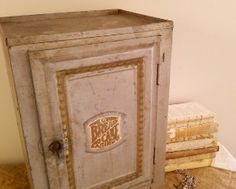 Old Farmhouse Kitchen Large Metal Pie Cake Safe. Cabinet doors ...