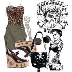 I found 'Rockabilly Pin up Outfit' on Wish, check it out!