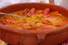 receta de arroz con bogavante Thermomix