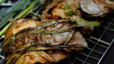 Chargrilled lemongrass Telopea fish recipe : SBS Food w\ video
