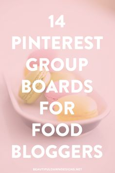 Joining group boards on Pinterest is a good way get your content seen by more people. Enjoy this list of 14 Pinterest Groups for food bloggers.