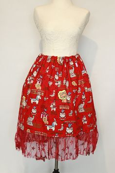Hello Kitty, Lolita Fashion, Fashion Outfits, Blouse, Sweet, Casual, Skirts, Stuff To Buy, Clothes