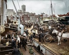 1900_ New York Harbour