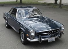 1968 Mercedes-Benz 250SL. VERY fast, I tell you...
