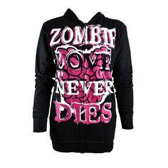 #Cupcake cult love to die hood #ladies #black pink goth emo punk hoodie,  View more on the LINK: http://www.zeppy.io/product/gb/2/321797988528/