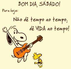 Bom dia.  Bom sábado, e Bom fim de semana.  #bomdia #fimdesemana #sabado
