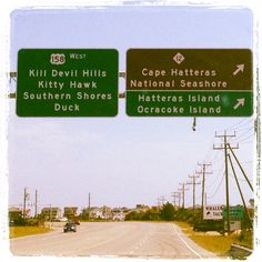 OBX! I love seeing this sign every year. I feel like I'm home