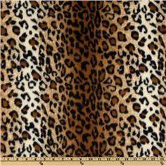 Winterfleece Black/brown Leopard