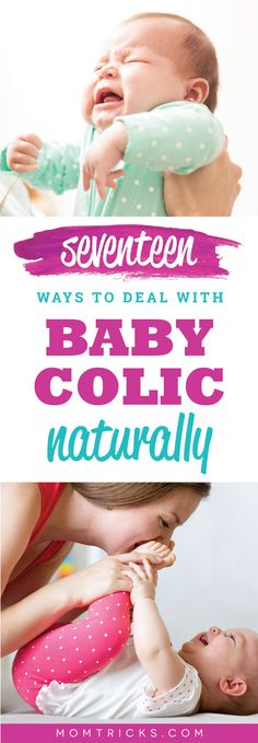 Baby Colic: How to Identify It & 17 Ways To Deal With It Naturally The ultimate guide to colic remedies! Why colic happens, what you can do about it and how to make it easier for both you and baby. Mama Baby, Mom And Baby, Massage Business, Colic Baby, Colic In Babies, Baby Accessoires, Baby Massage, Baby Supplies, After Baby