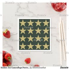 Soldier Joe Camouflage Patriotic Green Gold Party Paper Napkins Engagement Celebration, Ecru Color, Gold Party, Fun Loving, Paper Napkins, Best Part Of Me, Green And Gold, Summer Fun, Camouflage