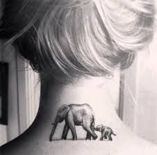 Image result for elephant family tattoo