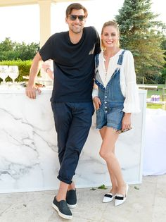 Olivia Palermo made her Hamptons weekend trip a family affair, bringing along husband Johannes Huebl, her brother Grant and her white Maltese terrier Mr...