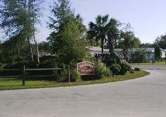 Aurora Acres Mobile Home RV Park At Inglis Florida