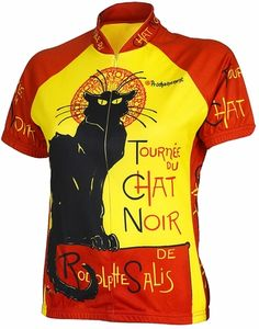 Chat Noir Women's Cycling Jersey by Retro - I love this!!!