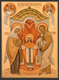 The Presentation of the Blessed Virgin Mary is a liturgical feast celebrated on November 21 by the both the Catholic and Orthodox Churches. In the apocryphal Infancy Narrative of James, Mary… Religious Photos, Religious Icons, Religious Art, Catholic Pictures, Byzantine Icons, Byzantine Art, Christian Warrior, Christian Art, Catholic Art