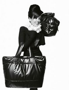 """Chanel """"Cocoon"""" bag ad Campaign ft. Lily Allen"""