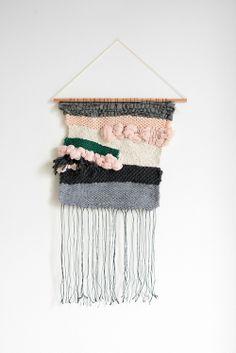 Weaving by Julie Robert #weaving #wallhanging #tissage