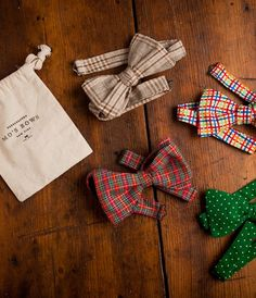 Handmade Bow Ties by Mo's Bows