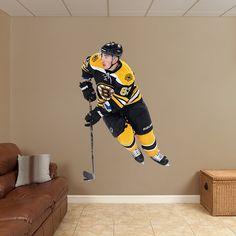 Brad Marchand REAL.BIG. Fathead Wall Graphic | Boston Bruins Wall Decal | Sports Home Decor | Hockey Bedroom/Man Cave/Nursery