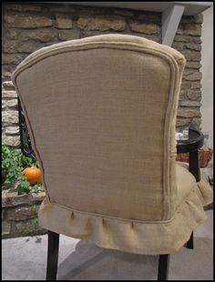 diy, reupholster a chair