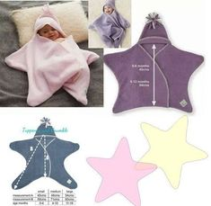 Sewing and learning: little baby star. Pattern and tutorial - Diy Kids Crafts Sewing For Kids, Baby Sewing, Diy For Kids, Baby Outfits, Baby Patterns, Sewing Patterns, Knitting Patterns, Crochet Patterns, Sewing Tutorials