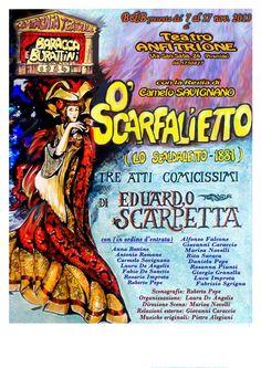 O'Scarfalietto 3 atti comicissimi di Edoardo Scarpetta in scena al Teatro Anfitrione Via di San Saba 24 Roma dal 7 al 17 novembre 2013