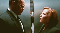 Assistant Director Walter Skinner and Special Agent Dana Scully. These two should have been canon.