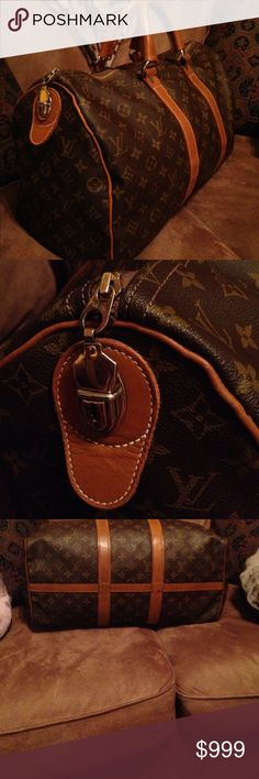 Just sharing! Vintage 1970s keepall 45 Nick @louisvuittonbag just sent me the most beautiful 1970s vintage mint condition tyvek tag French company keepall 45. I recently just started collecting antique Louis Vuitton suitcases and 80s and 90s Epi bags. I have every size keep all made and this is by far my favorite! Vintage pieces have been on display recently at the Houston Louis Vuitton salon when I saw them last month I was obsessed! I regret ever selling any of my vintage pieces in the…