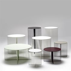 Accursio tables by laCividina via ownworld.com.au