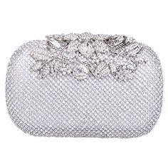 Fawziya Women's Dazzling Fully Crystal Evening Handbag-Silver Fawziya http://www.amazon.com/dp/B00IMZK1IG/ref=cm_sw_r_pi_dp_rPF.ub1W7H0PW