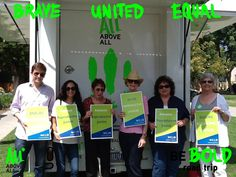 Blog post for NCJW Insider Blog on All Above All's Be Bold Road Trip for #reprojustice