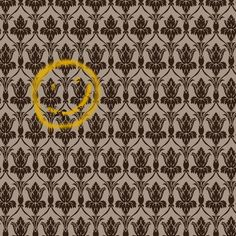Sherlock and Watson's Wallpaper. I need it. No, seriously. I need it. In fact, I was telling one of my fellow Sherlockians that I wanted a print of the wallpaper for artwork because only cool people would get the reference.