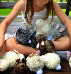 Osterhasen basteln mit Kindern - 6 Ideen mit Anleitung