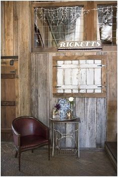 Rustic chic decor | Ivory Door Studio | see more at http://fabyoubliss.com