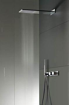 Milano Wall-Mounted shower head by Fantini Rubinetti, available via inoxtaps.com