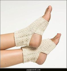 awesome Easy knit yoga sock pattern